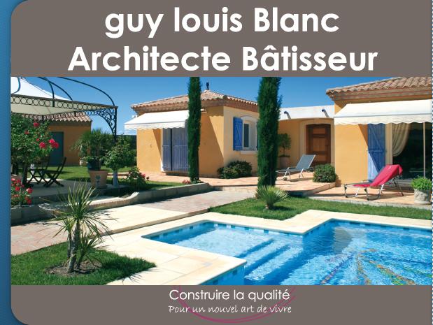 guy louis blanc architecte d p l g b ziers studio. Black Bedroom Furniture Sets. Home Design Ideas