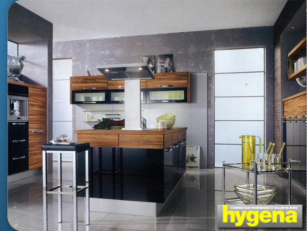 hygena cuisine equip e mobilier salle de bain studio. Black Bedroom Furniture Sets. Home Design Ideas